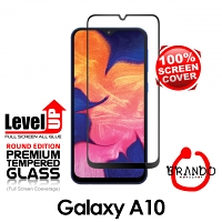 Brando Workshop Full Screen Coverage Glass Protector (Samsung Galaxy A10) - Black