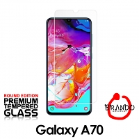 Brando Workshop Premium Tempered Glass Protector (Rounded Edition) (Samsung Galaxy A70)