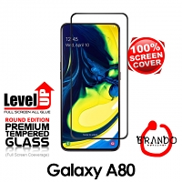 Brando Workshop Full Screen Coverage Glass Protector (Samsung Galaxy A80) - Black
