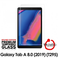 Brando Workshop Premium Tempered Glass Protector (Rounded Edition) (Samsung Galaxy Tab A 8.0 (2019) (T295))