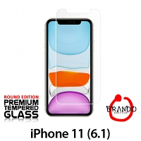 Brando Workshop Premium Tempered Glass Protector (Rounded Edition) (iPhone 11 (6.1))