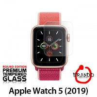 Brando Workshop Premium Tempered Glass Protector (Rounded Edition) (Apple Watch 5 (2019))