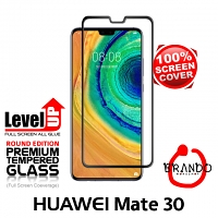 Brando Workshop Full Screen Coverage Glass Protector (Huawei Mate 30) - Black