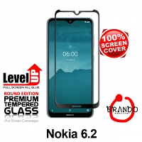 Brando Workshop Full Screen Coverage Glass Protector (Nokia 6.2) - Black
