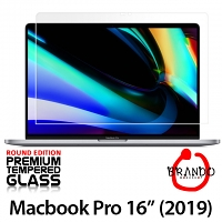 Brando Workshop Premium Tempered Glass Protector (Rounded Edition) (MacBook Pro 16