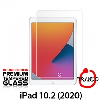 Brando Workshop Premium Tempered Glass Protector (Rounded Edition) (iPad 10.2 (2020))