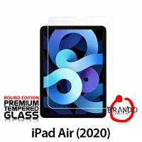 Brando Workshop Premium Tempered Glass Protector (Rounded Edition) (iPad Air (2020))