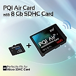 PQI Air Card w/ 8GB SDHC Card