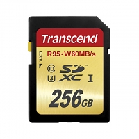 Transcend SDXC UHS-I Card (U3 - 95MB/s Read, 60MB/s Write)