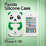 iPhone 4S Giant Panda Silicone Case