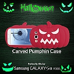 Samsung Galaxy S III I9300 Halloween Carved Pumpkin