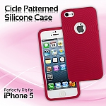 iPhone 5 / 5s / SE Cicle Patterned Silicone Case