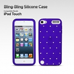 iPod Touch 5G Bling-Bling Silicone Case
