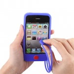 iPhone 4S One-Piece Silicone Case