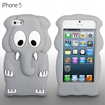 iPhone 5 / 5s Elepant Soft Silicone Case