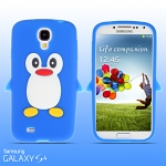 Samsung Galaxy S4 Penguim Soft Silicone Case