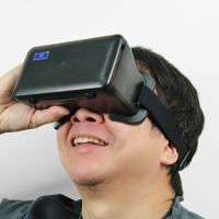 3D Virtual Reality Video Glasses NJ-1688C