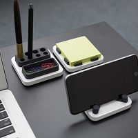 Monthings island Desktop Storage