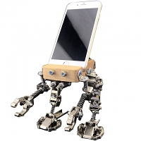 DIY Ammunition Infantry Robot Smartphone Holder