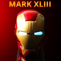 MARVEL Iron Man Mark XLIII 1/1th Scale Bluetooth Speaker