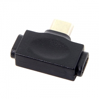 2-in-1 Type-C Male to Lightning/microUSB Female Adapter
