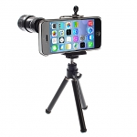 Professional iPhone 5c 12x Zoom Telescope Camera Lens Kit with Tripod Stand