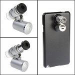 Samsung Galaxy Note 3 Microscope with White 2-LED and Note Detector LED