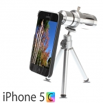 Professional iPhone 5c 12x Zoom Telescope with Tripod Stand