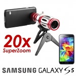 Samsung Galaxy S5 Super Spy Ultra High Power Zoom 20X Telescope with Tripod Stand