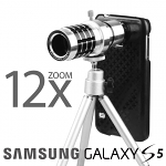 Professional Samsung Galaxy S5 12x Zoom Telescope with Tripod Stand