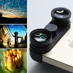 4-in-one Lens for iPhone 5 / 5s