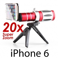 iPhone 6 / 6s Super Spy Ultra High Power Zoom 20X Telescope with Tripod Stand