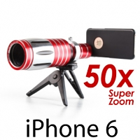 iPhone 6 / 6s Super Spy Ultra High Power Zoom 50X Telescope with Tripod Stand