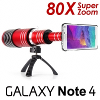 Samsung Galaxy Note 4 Super Spy Ultra High Power Zoom 80X Telescope with Tripod Stand