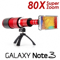 Samsung Galaxy Note 3 Super Spy Ultra High Power Zoom 80X Telescope with Tripod Stand