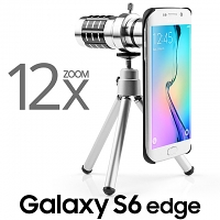 Professional Samsung Galaxy S6 edge 12x Zoom Telescope with Tripod Stand