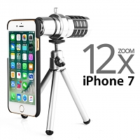 Professional iPhone 7 12x Zoom Telescope with Tripod Stand