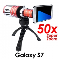 Samsung Galaxy S7 Super Spy Ultra High Power Zoom 50X Telescope with Tripod Stand