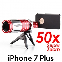 iPhone 7 Plus Super Spy Ultra High Power Zoom 50X Telescope with Tripod Stand