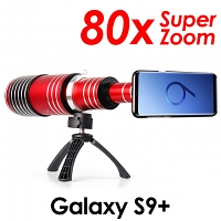 Samsung Galaxy S9+ Super Spy Ultra High Power Zoom 80X Telescope with Tripod Stand