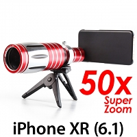 iPhone XR (6.1) Super Spy Ultra High Power Zoom 50X Telescope with Tripod Stand