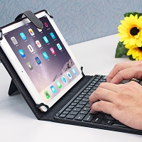 Universal Folio Bluetooth Keyboard for Tablet
