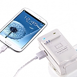 Universal Battery Charging Stand PLUS USB Output - Samsung Galaxy SIII I9300