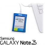 Momax USB Smart Battery Charging Stand PLUS 3200mAh Battery Power - Samsung Galaxy Note 3