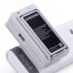 Momax Universal Battery Charging Stand PLUS USB Output - Samsung Galaxy S5