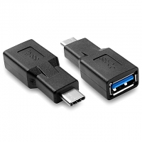 USB 3.1 Type-C Male to USB 3.0 A Female OTG Adapter