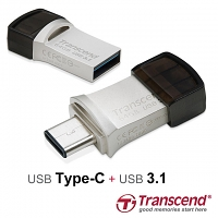 Transcend JetFlash 890S USB 3.1 OTG Flash Drive