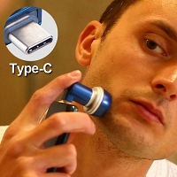 Type-C Magnetic Mini Travel Shaver