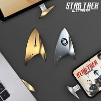 Star Trek Discovery - Alloy Insignia Badge Type-C OTG Flash Drive
