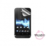 Brando Workshop Ultra-Clear Screen Protector (Sony Xperia Tipo ST21i)